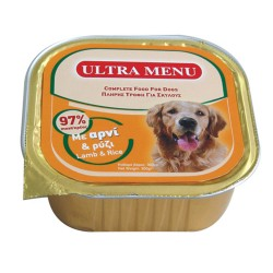Ultra Menu Lamb & Rice 300gr