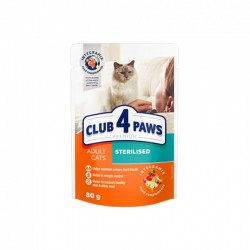 Club 4 paws sterilised 80gr